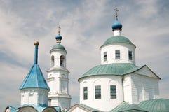 介绍的教会在上帝的母亲寺庙的在Spi 库存图片