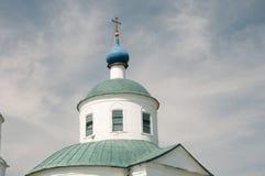 介绍的教会在上帝的母亲寺庙的在Spi 免版税库存照片