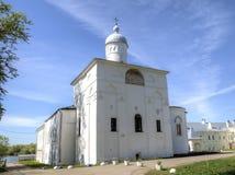介绍的教会对餐厅的 圣安东尼修道院 库存图片