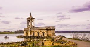 水的教堂 库存图片
