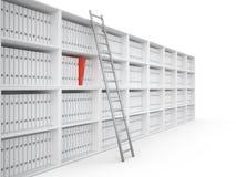 组织的文件, 3D 库存图片