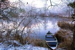 冻结的早晨 库存图片
