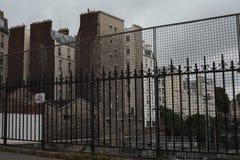 巴黎的暗边 库存图片