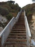 从的楼梯 免版税库存图片