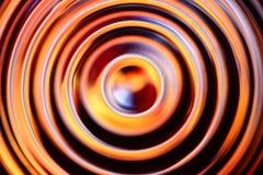 黑的橙色抽象背景 免版税库存图片