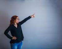 30年的欧洲妇女是 免版税库存照片