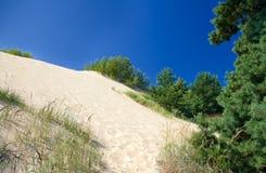 死的沙丘 库存照片