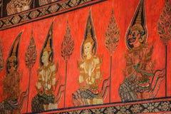 绘的泰国传统 库存照片