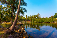 泰国房子 免版税图库摄影