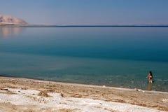 死的海以色列 免版税库存照片