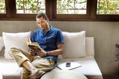 读的消遣追求放松学会概念 库存照片