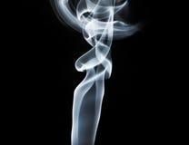 轻的烟漩涡 免版税库存图片