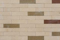 轻的砖墙背景 免版税库存图片