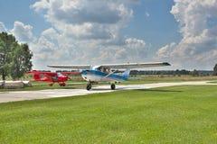 轻的私人飞机 免版税库存图片
