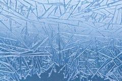 冻结的窗口样式和纹理 库存照片