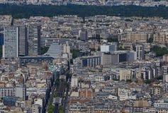 巴黎的第15 arrondissement 免版税库存照片