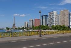 巴黎的第15 arrondissement 免版税库存图片
