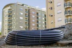 的管子卷供水2 免版税库存图片