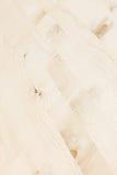 轻的米黄木条地板 木纹理 抽象背景异教徒青绿 免版税库存图片