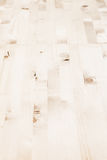 轻的米黄木条地板 木纹理 免版税库存照片