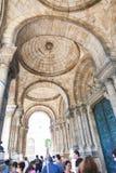 巴黎的耶稣的神圣的心脏的大教堂 库存图片