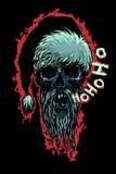死的莫罗兹说Ho Ho Ho! 库存照片