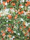 冻结的菜混合 免版税库存照片