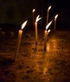 死的蜡烛 免版税图库摄影