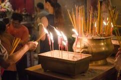 轻的蜡烛 免版税图库摄影