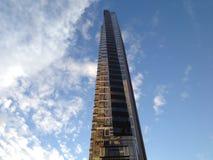 306的西部第48纽约摩天大楼 库存照片