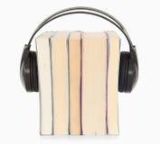 的解释audiobook概念 免版税库存照片