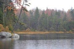 水的边缘 免版税库存照片