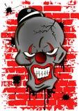 死的邪恶的小丑 免版税图库摄影