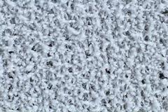 冻结的金属滤网用霜涂在寒冷 背景 库存照片