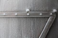 冻结的门 免版税库存图片