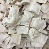 冻结的饺子 免版税库存图片