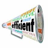组织的高效率有生产力手提式扬声机扩音机有效 向量例证
