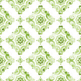 年的绿叶2017颜色 库存例证