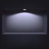 介绍的黑暗的适当位置 免版税库存图片
