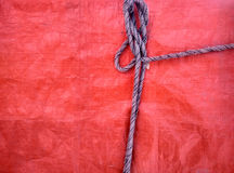 绳索的细节 库存照片