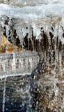 冻结的水 库存图片