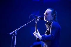 活的Radiohead 库存照片