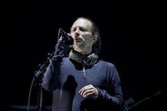 活的Radiohead 库存图片