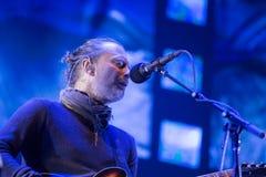 活的Radiohead 免版税库存图片