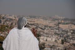 的Sigd -埃赛俄比亚的犹太人Holyday 图库摄影