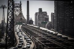 皇后区大桥 库存照片