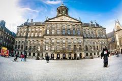皇宫阿姆斯特丹 库存图片