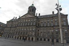 皇宫阿姆斯特丹 免版税库存照片