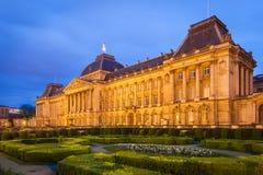皇宫,布鲁塞尔,比利时 免版税库存照片