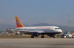 皇家不丹航空公司 免版税库存图片